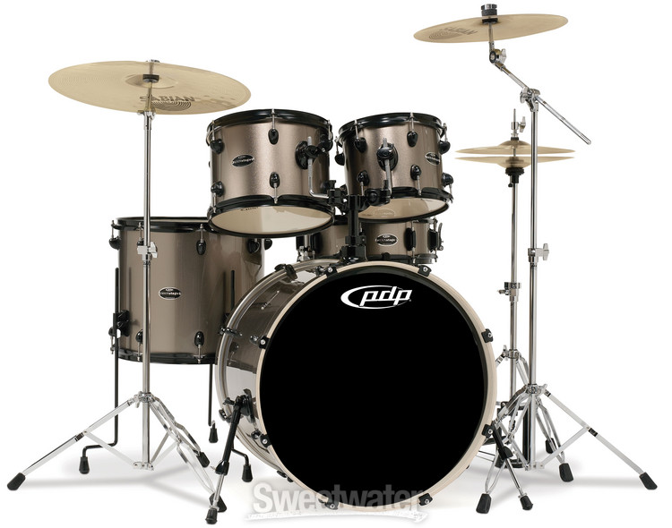 PDP Mainstage Complete Drum Kit - Bronze Metallic image 1