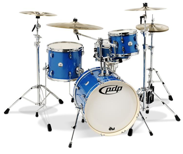 PDP New Yorker 4-piece Shell Pack - Sapphire Sparkle image 1