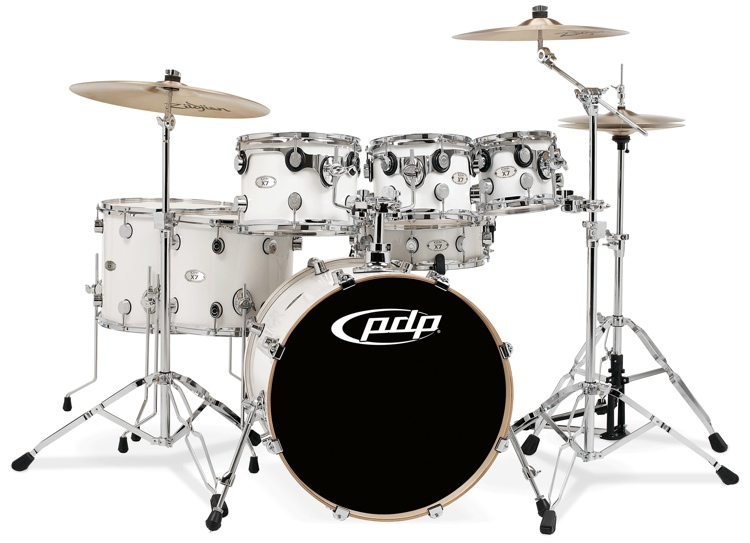 PDP X7 Series 7-Piece Shell Pack - Pearlescent White image 1