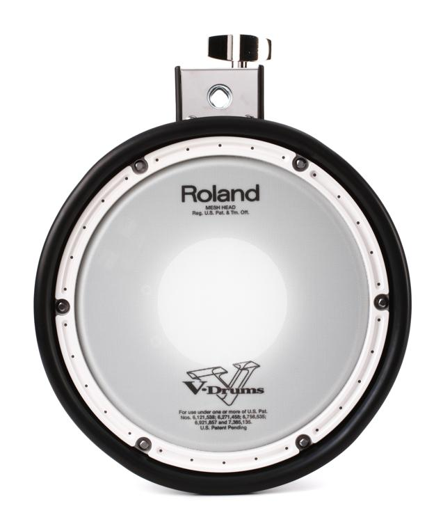 Roland Mesh-head Electronic Pad Pack - Includes PDX-8, MDH-12 Mount, and Cable image 1