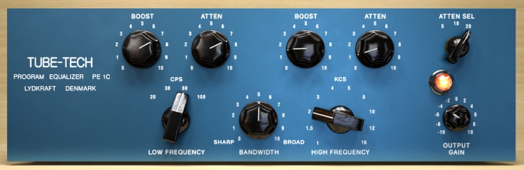 Softube Tube-Tech PE 1C Equalizer Plug-in - TDM image 1