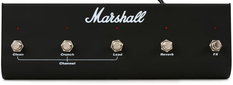 Marshall PEDL-00021 TSL-series 5-button Footswitch image 1