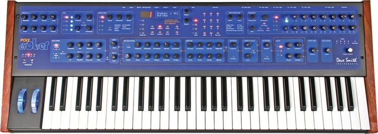 Dave Smith Instruments Poly Evolver PE Keyboard 61-key 4-voice Analog/Wavetable Synthesizer with Step Sequencer image 1