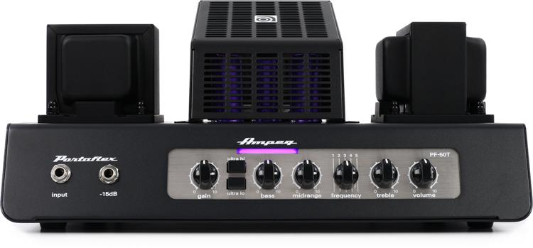 Ampeg PF-50T Portaflex - 50W All-tube Bass Head image 1