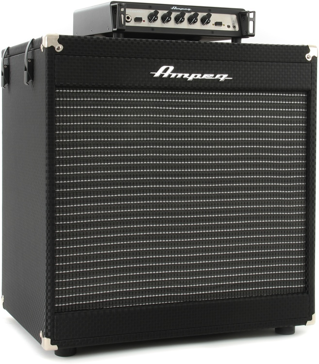 Ampeg Portaflex PF-350 Head and PF115 Cabinet Stack | Sweetwater