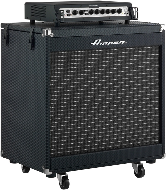Ampeg Portaflex PF-500 Head and PF-210HE Cabinet Stack | Sweetwater