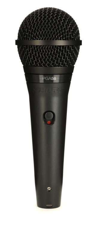 Shure PGA58 Handheld Dynamic Vocal Microphone image 1