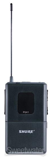 Shure PGX1 Bodypack Transmitter - H6 Band, 524 - 542 MHz image 1