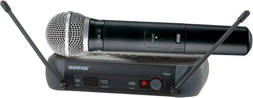 Shure PGX24/SM58 - L5 Band (644 - 662 MHz) image 1