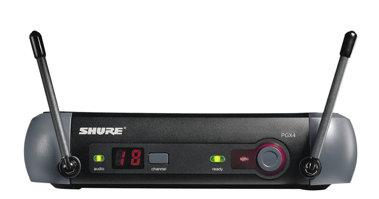 Shure PGX4 Wireless Receiver - L5 Band, 644 - 662 MHz image 1