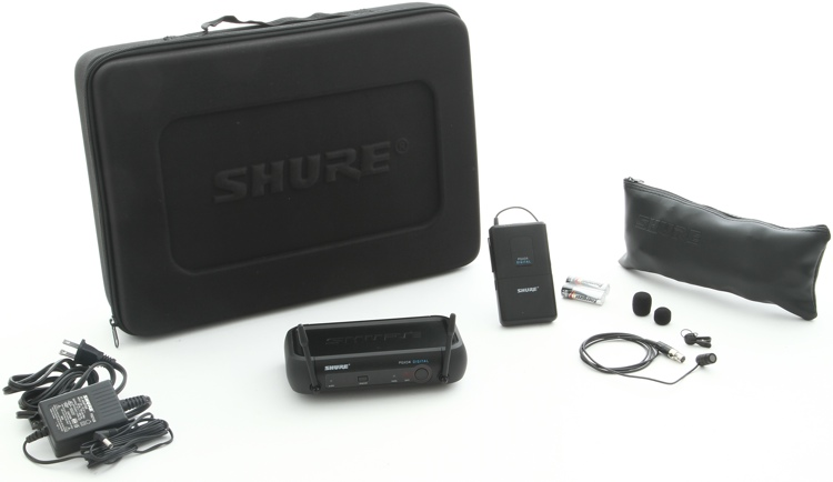 Shure PGXD14/85 Lavalier Wireless System - Bodypack Sys w/WL185 image 1
