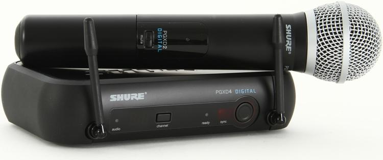 Shure PGXD24/PG58 Handheld Wireless System image 1