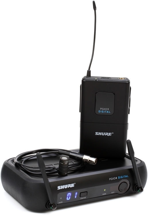 Shure PGXD14/85 Wireless Lavalier System image 1