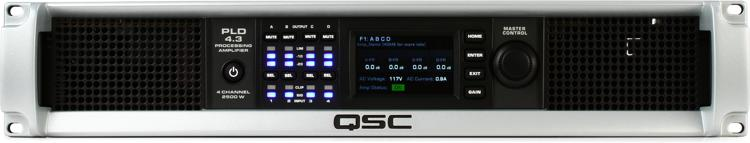 QSC PLD4.3 Power Amplifier with DSP image 1