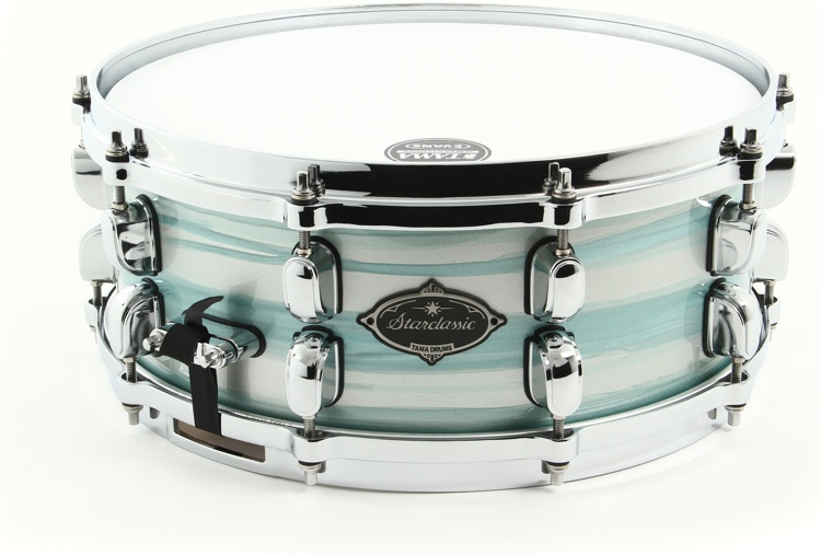 Tama Starclassic Performer B/B Snare - Lacquered Azure Oyster image 1