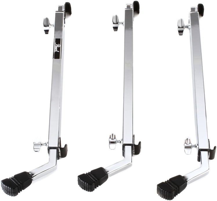 Pearl Multi-fit Bass Drum Legs - Chrome image 1