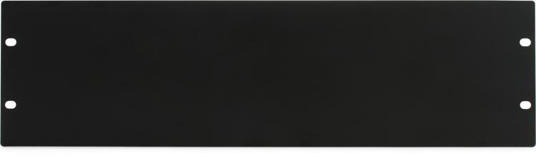 Gator GRW-PNLSTFT3 Flat Steel Rack Panel - 3U image 1