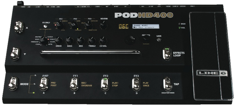 Line 6 POD HD400 image 1