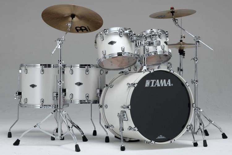 Tama Starclassic Performer B/B Shell Pack - 5-piece - Satin Pearl White image 1
