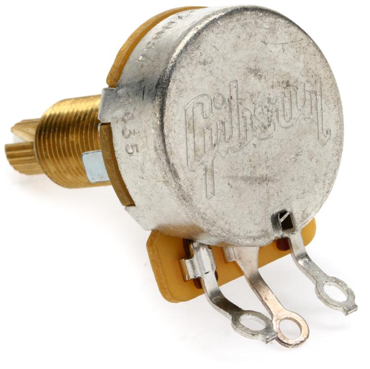 Gibson Accessories Potentiometer - 300k Ohm Linear Taper, Long Shaft image 1