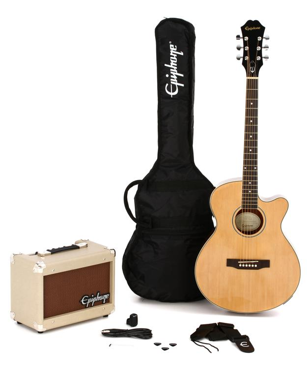 Epiphone PR-4E Acoustic/Electric Player Pack image 1
