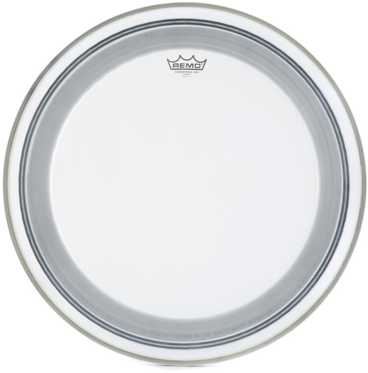 Remo Powerstroke Pro Coated Bass Drum Head - 22