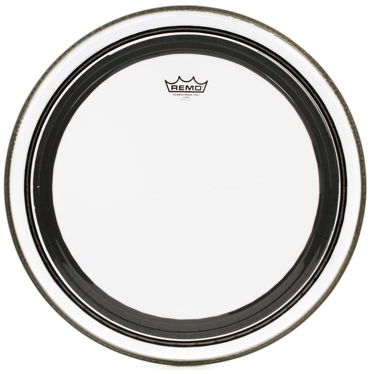 Remo Powerstroke Pro Clear Bass Drum Head - 20
