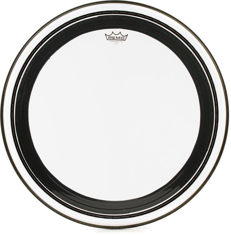 Remo Powerstroke Pro Clear Bass Drum Head - 24