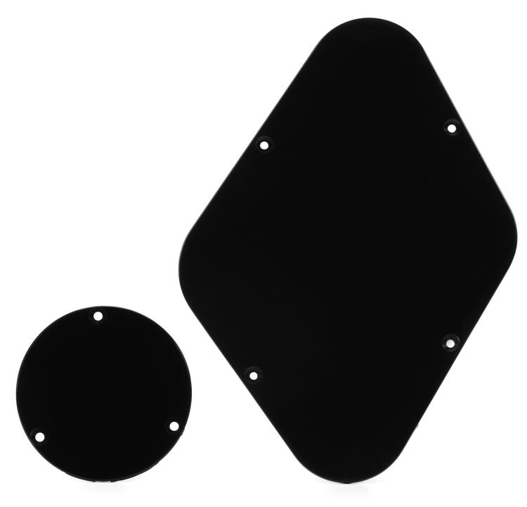 Gibson Accessories Backplate Combo - Black image 1