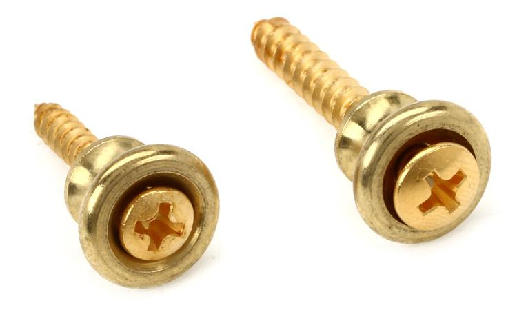 Gibson Accessories Strap Buttons - Brass image 1