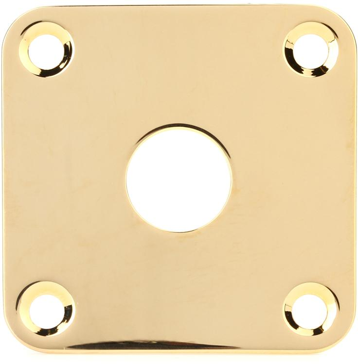 Gibson Accessories Jack Plate - Gold image 1