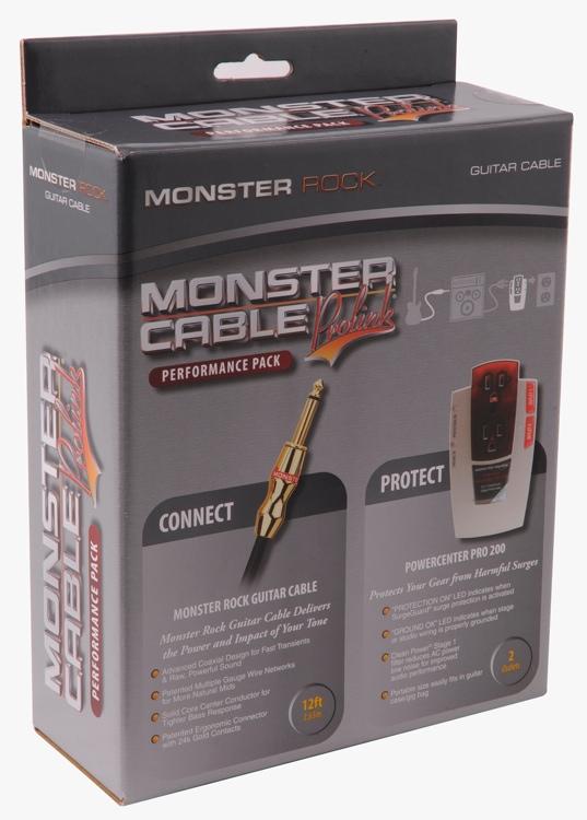 Monster Power PRO 200 MROCK-12 Pack image 1