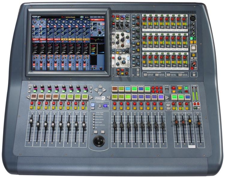Midas PRO2C-CC-IP and DL251 Stagebox Digital Mixer System image 1