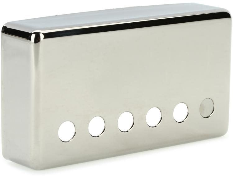 Gibson Accessories Neck Position Humbucker Cover - Nickel image 1
