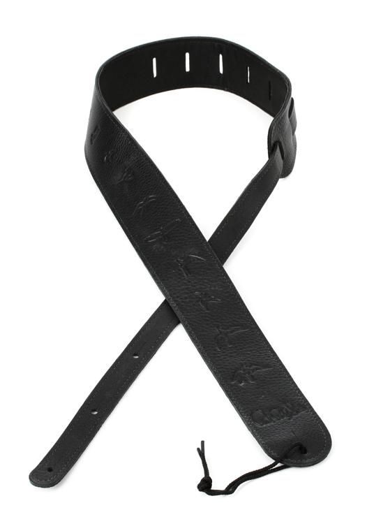 PRS Leather Bird Strap - Black image 1
