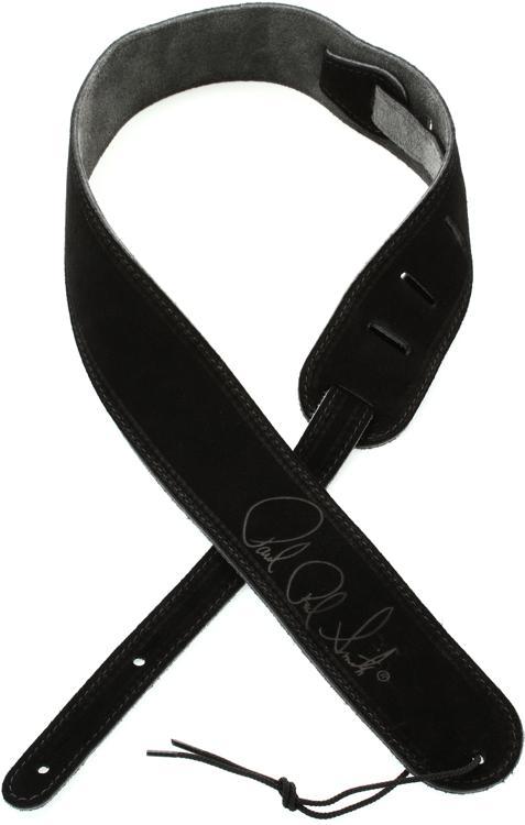 PRS Suede Signature Strap - Black image 1