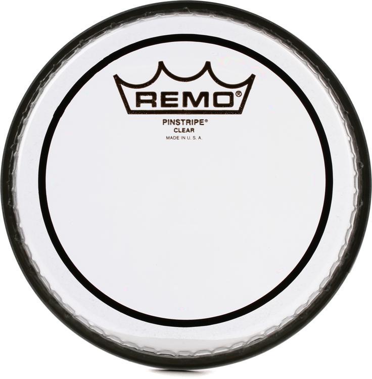 Remo Clear Pinstripe Drum Head - 6