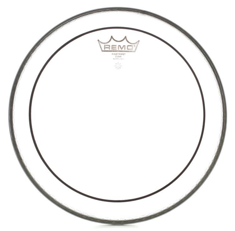 Remo Clear Pinstripe Drum Head - 10