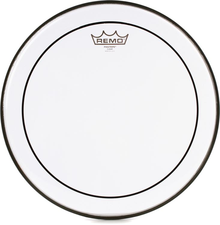 Remo Clear Pinstripe Drum Head - 14