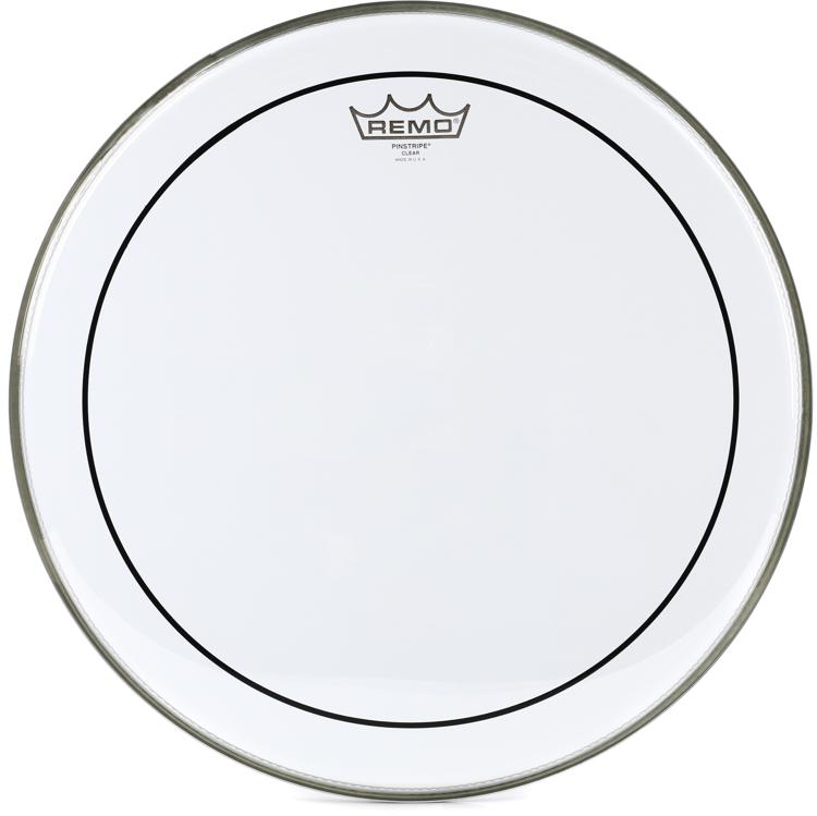 Remo Clear Pinstripe Drum Head - 16