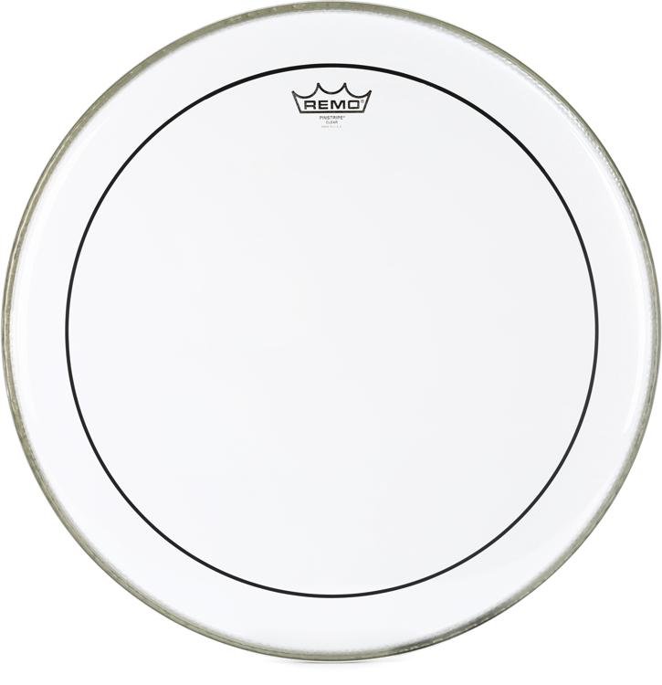 Remo Clear Pinstripe Bass Drum Head - 20