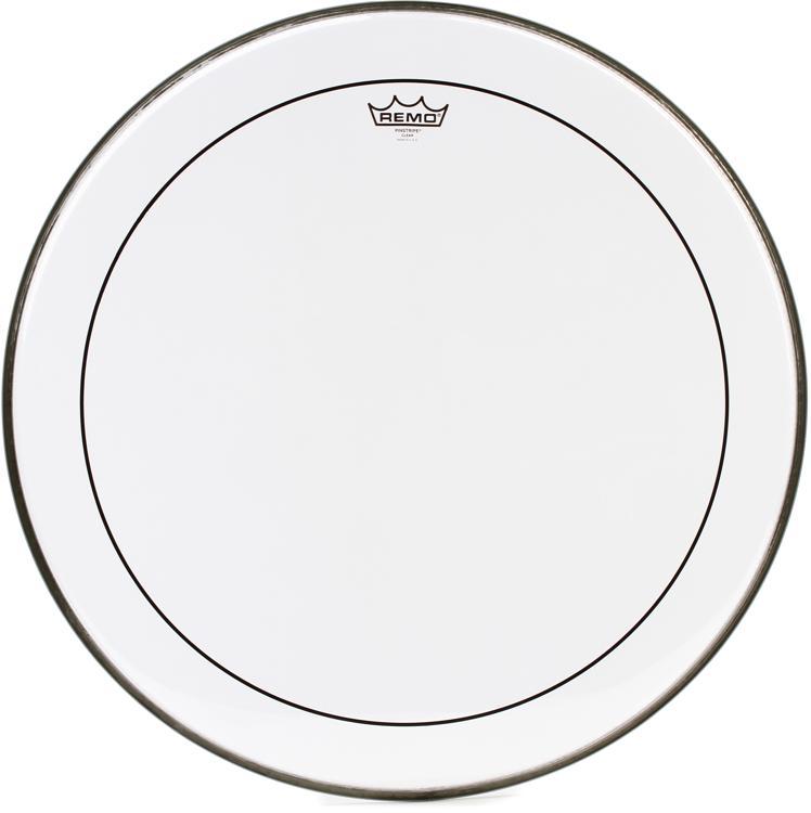 Remo Clear Pinstripe Bass Drum Head - 24
