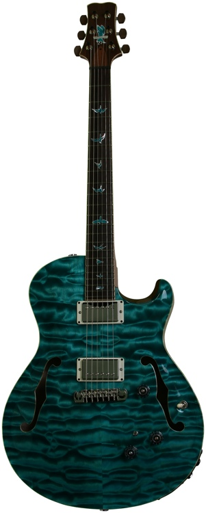 PRS Private Stock JA 15 with Piezo - Bahamian Blue image 1