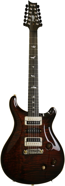 PRS Private Stock Brazilian # 4230 - Cst 22 12 String, Burnt Org, Br image 1