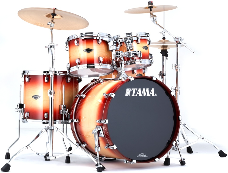 Tama Starclassic Performer B/B Shell Pack - 4-piece - Cherry Natural Burst image 1