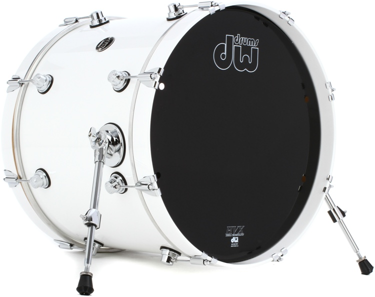 DW Performance Series Bass Drum  - 16x20 - White Ice Lacquer image 1