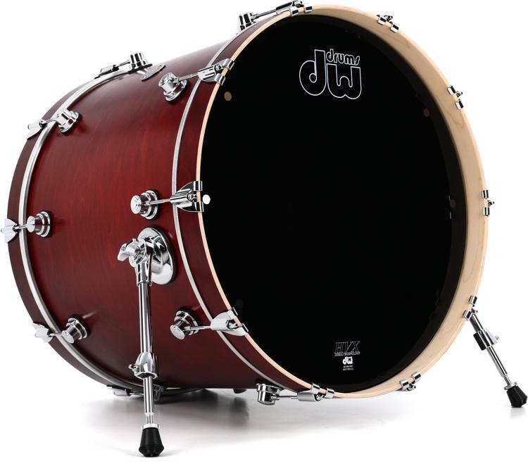 Dw Performance Series Bass Drum 18 Quot X 22 Quot Tobacco Satin