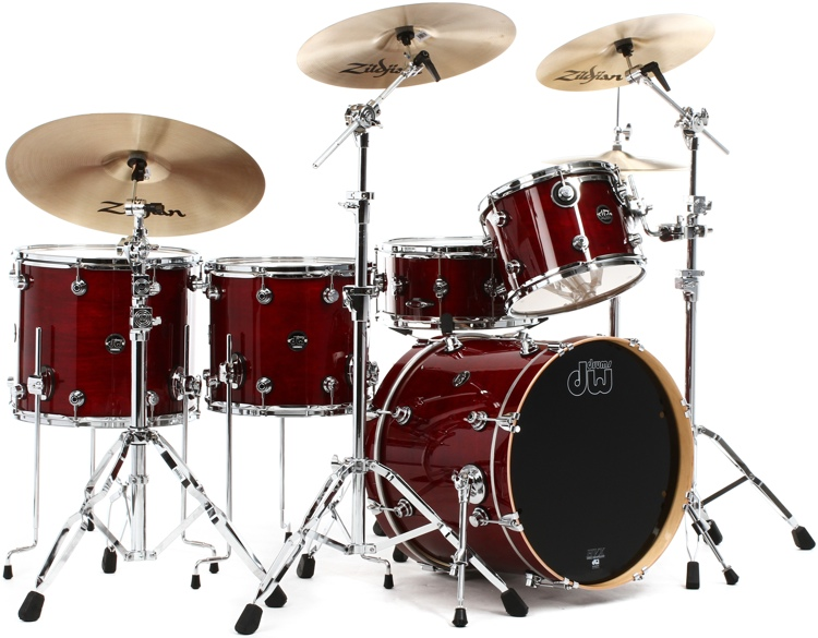 DW Performance Series 5-piece Rock Shell Pack with Snare Drum - 20