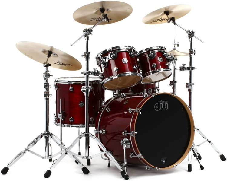 DW Performance Series 5-piece Shell Pack with Snare Drum - 22