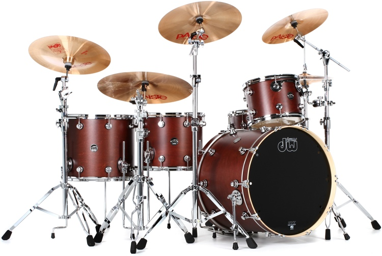 DW Performance Series 5-pc Rock Shell Pack with Snare - 22